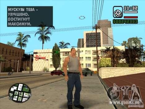Cj blanc pour GTA San Andreas deuxième écran