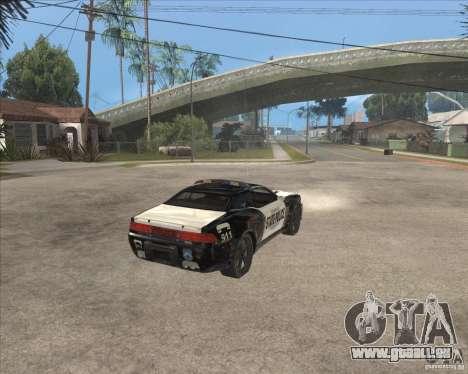 Police NFS UC pour GTA San Andreas vue de droite