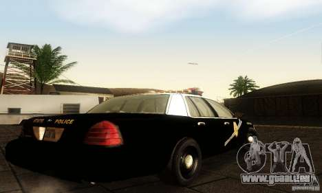Ford Crown Victoria New Mexico Police für GTA San Andreas linke Ansicht
