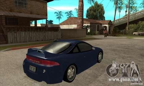 Mitsubishi Eclipse GSX - Stock für GTA San Andreas rechten Ansicht