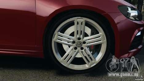 Volkswagen Scirocco R v1.0 für GTA 4 Rückansicht