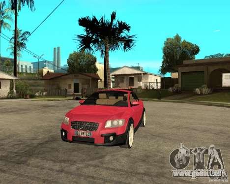 VOLVO C 30 T5 DEL 2008 pour GTA San Andreas vue arrière