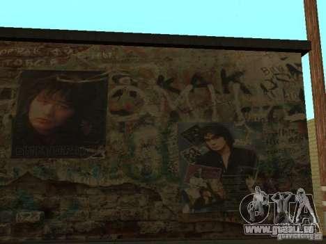 Chansons de films à la guitare pour GTA San Andreas troisième écran