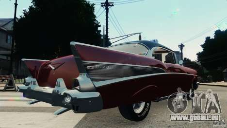 Chevrolet Bel Air Hardtop 1957 Light Tun für GTA 4 rechte Ansicht