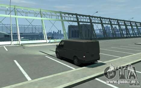 Ford Transit 2011 pour GTA 4 Vue arrière de la gauche