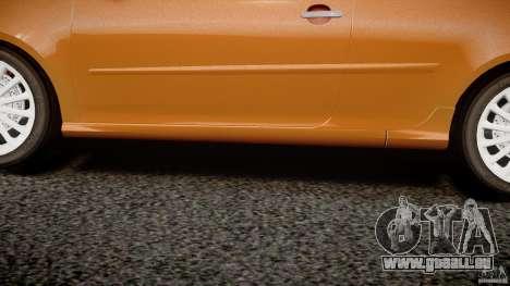 Volkswagen Golf R32 v2.0 pour GTA 4 est une vue de dessous