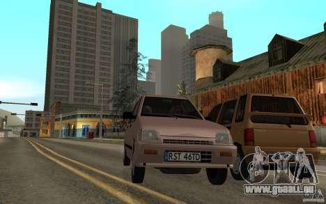 Daewoo Tico SX für GTA San Andreas Innenansicht
