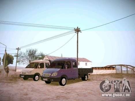 Gazelle 33023 für GTA San Andreas linke Ansicht