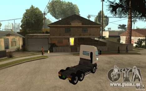 Hino 700 Series pour GTA San Andreas vue de droite