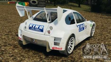 Colin McRae KING Rallycross für GTA 4 hinten links Ansicht