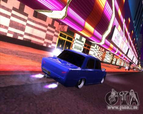 VAZ 2101 Drift voiture pour GTA San Andreas laissé vue