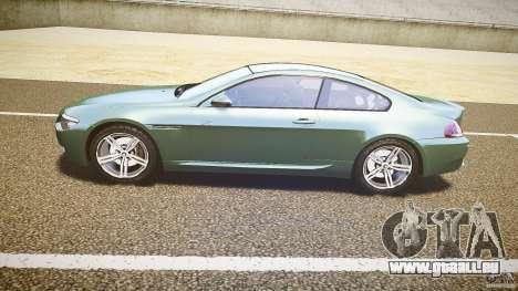 BMW M6 v1.0 für GTA 4 hinten links Ansicht