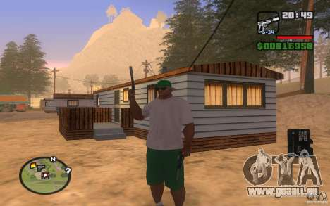 Double weapons für GTA San Andreas her Screenshot