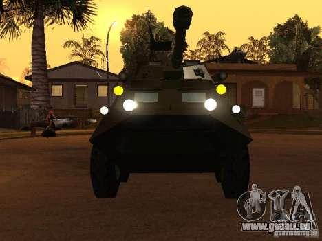 APC-60FSV pour GTA San Andreas vue arrière