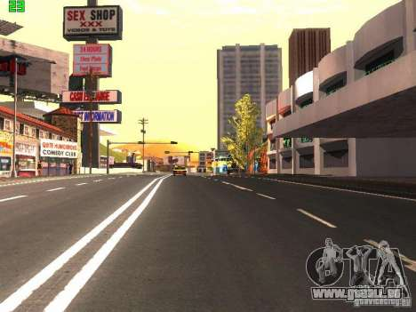 Roads Moscow pour GTA San Andreas