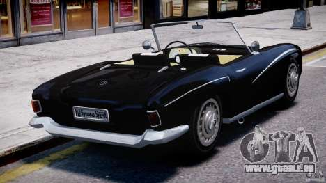 FSO Syrena Sport 1960 pour GTA 4 Vue arrière de la gauche