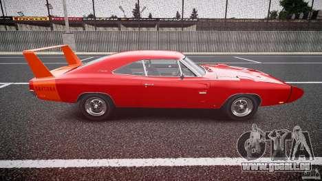 Dodge Charger Daytona 1969 [EPM] pour GTA 4 est une vue de l'intérieur