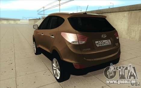 Hyundai ix35 pour GTA San Andreas vue de droite