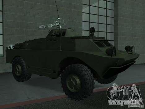 Swatvan avec mitrailleuse pour GTA San Andreas