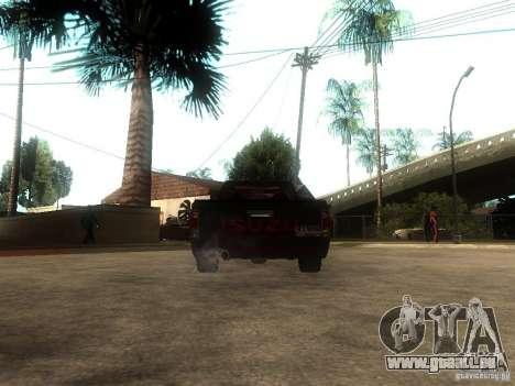 Isuzu D-Max pour GTA San Andreas sur la vue arrière gauche