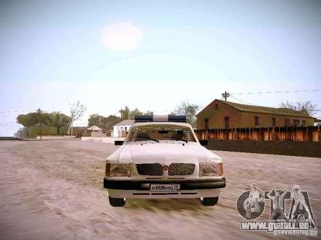 GAZ 310231 Urgent pour GTA San Andreas vue arrière