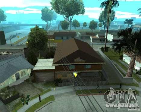 Nouvelle CJâ maison pour GTA San Andreas quatrième écran