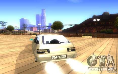 VAZ-2112 LT pour GTA San Andreas vue de côté