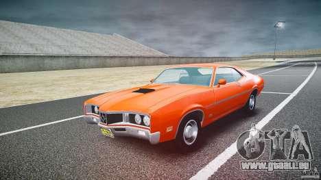 Mercury Cyclone Spoiler 1970 pour GTA 4 Vue arrière