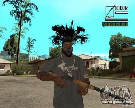 Call of Juarez Bound in Blood Weapon Pack pour GTA San Andreas quatrième écran