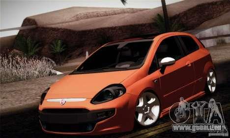 Fiat Punto Evo 2010 Edit für GTA San Andreas