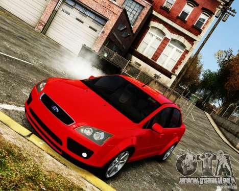 Ford Focus 2008 pour GTA 4 est un droit