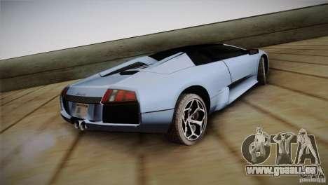 Lamborghini Murcielago Roadster pour GTA San Andreas laissé vue