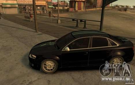 Audi RS4 für GTA 4 linke Ansicht