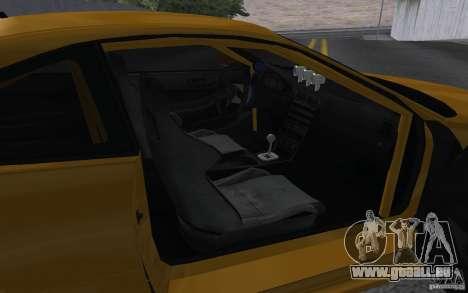 Acura Integra Type-R pour GTA San Andreas vue arrière