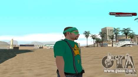 Skin Pack The Rifa Gang HD pour GTA San Andreas troisième écran