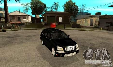 Chrysler Pacifica pour GTA San Andreas vue arrière