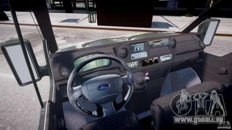 Ford Transit Pickup 2008 pour GTA 4 est un droit