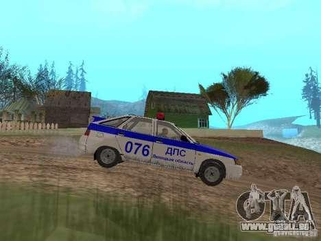 VAZ 21124 DPS pour GTA San Andreas laissé vue