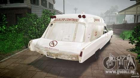 Cadillac Wildlife Control pour GTA 4 est une gauche
