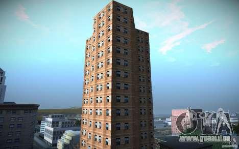 Gratte-ciel de HD pour GTA San Andreas troisième écran