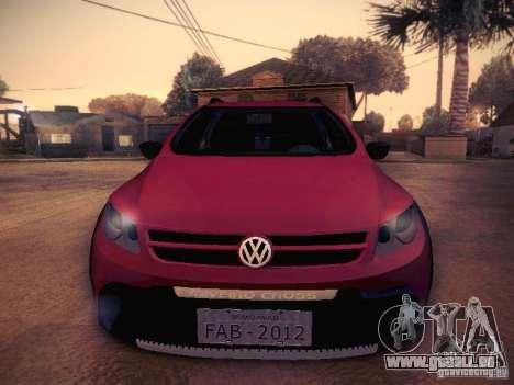 Volkswagen Saveiro Cross für GTA San Andreas Innenansicht