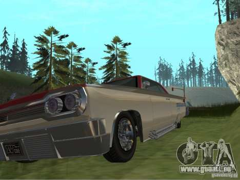 Voodoo von GTA 4 für GTA San Andreas Innenansicht