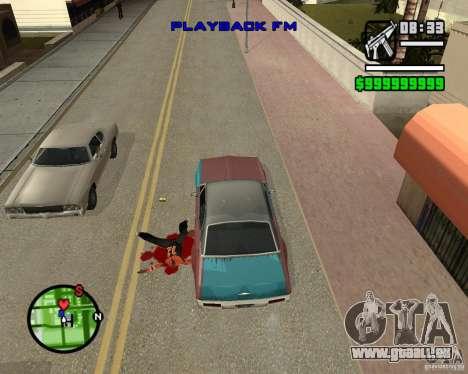 Change Hud Colors pour GTA San Andreas septième écran