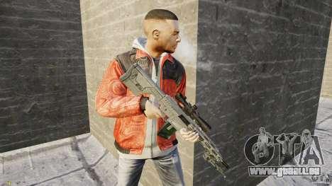 RSASS de MW3 (sniper) pour GTA 4