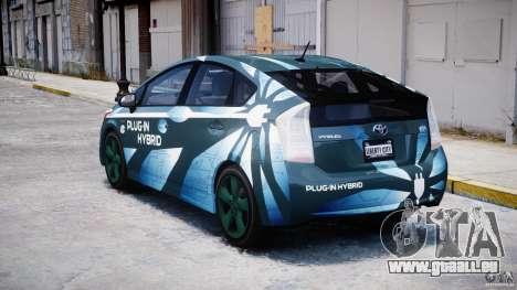 Toyota Prius 2011 PHEV Concept für GTA 4 hinten links Ansicht
