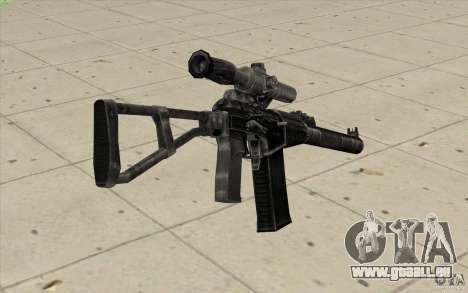 Comme fusil d'assaut de Val pour GTA San Andreas deuxième écran