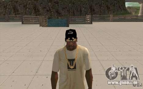 Jaguar de Cap pour GTA San Andreas deuxième écran