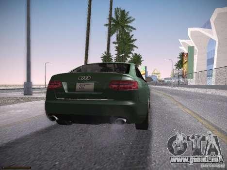 Audi RS6 2009 für GTA San Andreas linke Ansicht