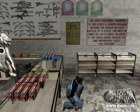 Capot du système pour GTA San Andreas quatrième écran
