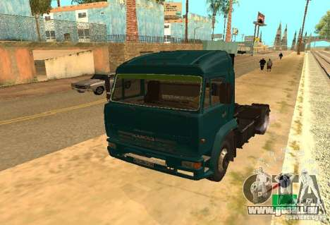 Kamaz 5460 pour GTA San Andreas